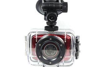 HD sportovní kamera vhodná pro všechny druhy sportů