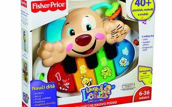Fisher Price Y5577 - Mluvící Pejskovo Piáno CZ/ANG