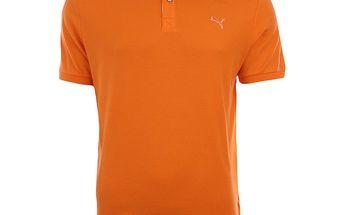 Pánské oranžové polo triko Puma