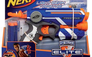 NERF Elite pistole se světelným zaměřováním