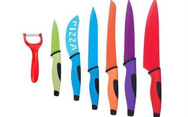 7dílná titanová sada nožů s keramickým povrchem
