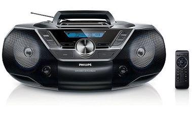 Radiomagnetofon s CD a USB Philips AZ780
