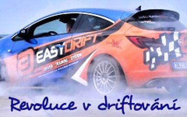 Zadriftuj si s Opel Astra OPC po dobu 30 minut na polygonu