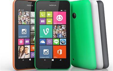 Chytrý telefon Nokia Lumia 530 DS dual SIM