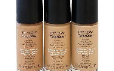 REVLON COLORSTAY make-up na mastnou pleť 30ml +houbička