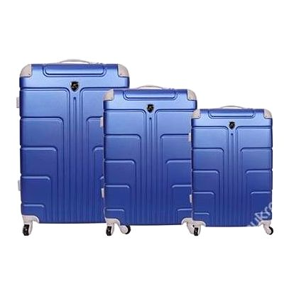 Skořepinové kufry - 3 ks, 7 barev