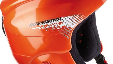 Odolná lyžařská juniorská helma Rossignol Radical Jr Oranžová 52 2012-2013