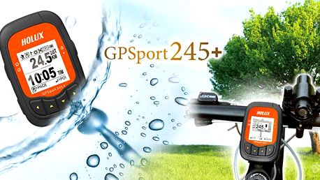 Kvalitní GPS Outdoor computer HOLUX