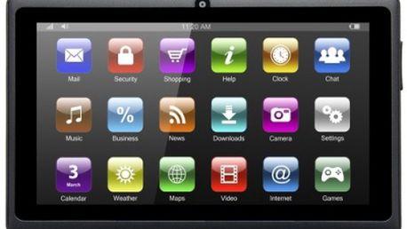 """7"""" tablet, 8GB paměť, 1GB RAM, 2jádro, Android 4.4"""