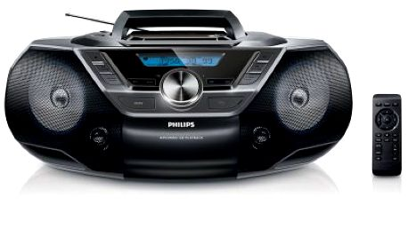 Radiomagnetofon s CD a USB Philips AZ780