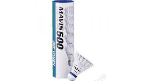 Badmintonové míčky Yonex Mavis 500 White (6ks)