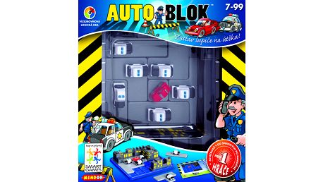 Desková hra Mindok 300563 - SMART - Auto blok