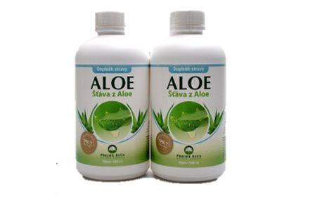 Aloe Vera šťáva 99.7% 2 x 1000 ml