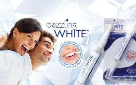 DAZZLING WHITE - BĚLÍCÍ TUŽKA! Za 1 týden bělejší zuby až o 4 odstíny! Testováno v USA!