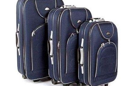Cestovní kufry na kolečkách, sada 3ks