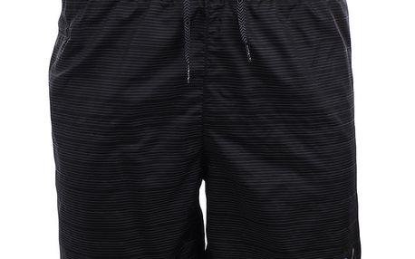 Pánské černé šortky s proužky Puma
