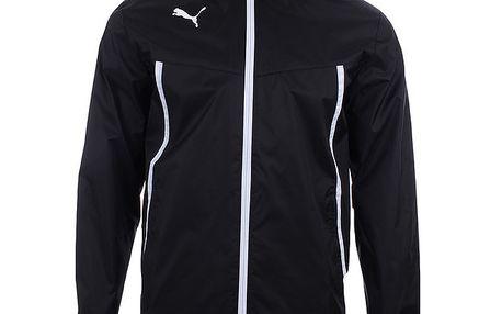 Pánská černá sportovní bundička s bílými prvky Puma