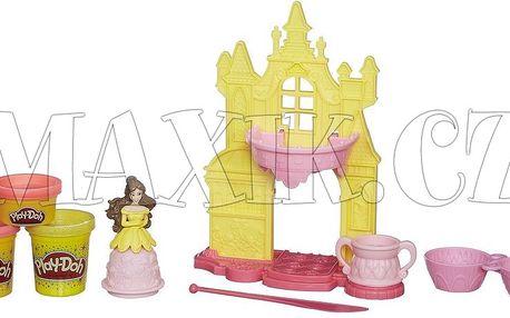 Play-Doh Disney Princes zámek princezny Belle