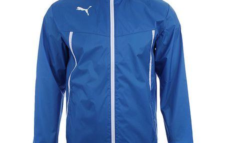 Pánská modrá sportovní bundička s bílými prvky Puma