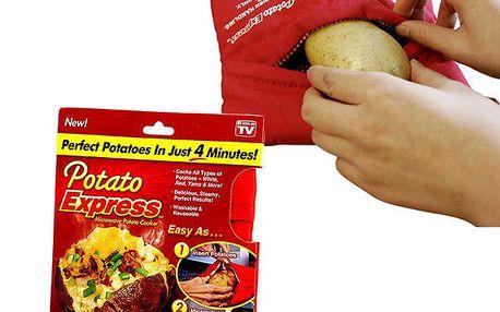 Kapsa na pečení brambor v mikrovlnce Potato Express!