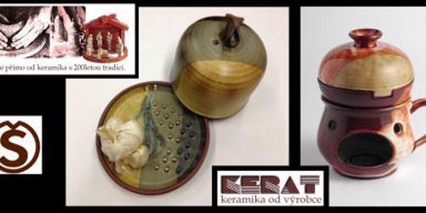 Keramický rozpékač na jablka či česnek se slevou 30% - Sleva na keramický rozpékač.
