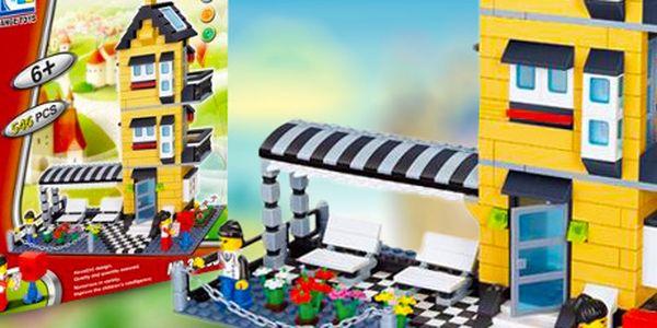 Stavebnice Wenge Creation 546 dílků - krásný dárek pro malé i veliké stavitele!