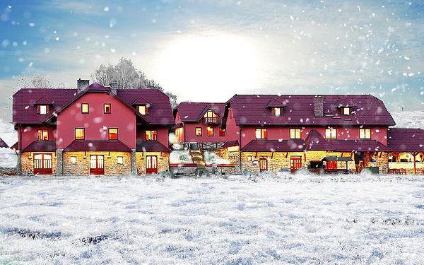 3denní vánoční pobyt pro 2 osoby s polopenzí u Havlíčkova Brodu