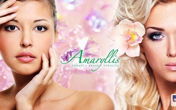 Dopřejte si luxusní péči v exkluzivním estetickém, regeneračním a kosmetickém centru Amaryllis MUDr. Zlaty Takácsové. Nabitý balíček super luxusního kosmetického ošetření přímo na míru.