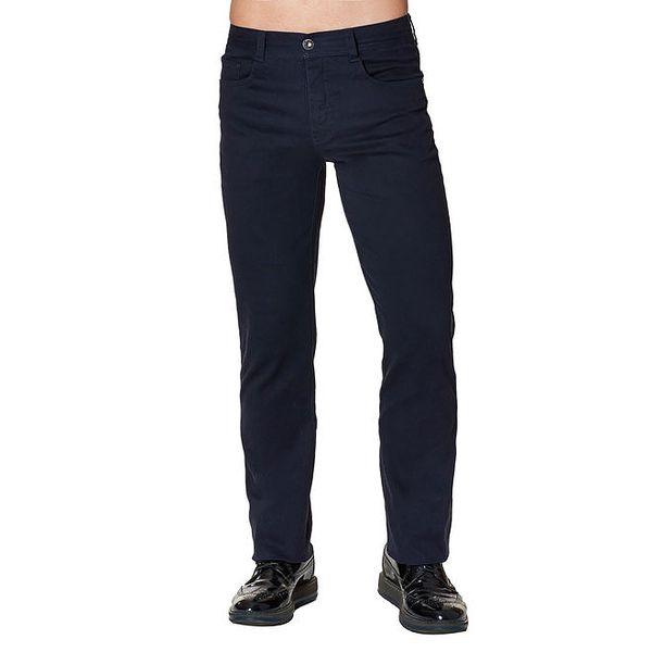 Pánské tmavě modré kalhoty Paul Stragas