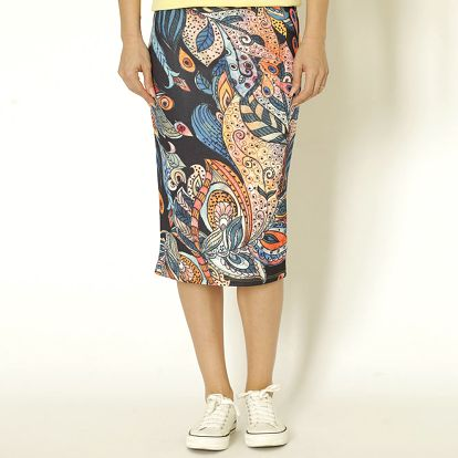 Dámská sukně s barevným vzorem Chaser