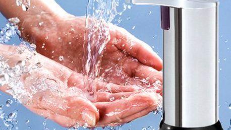 Bezdotykový senzorový dávkovač mýdla