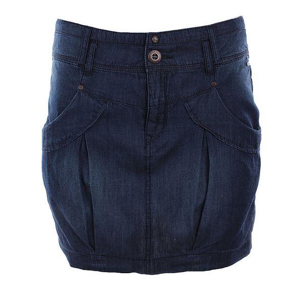 Dámská tmavě modrá džínová sukně Timeout