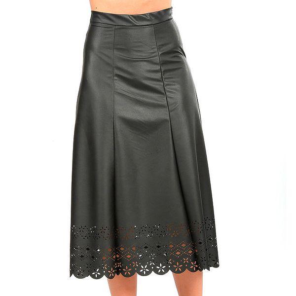 Dámská dlouhá sukně s perforací Isabel Queen