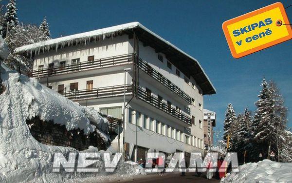Hotel Augustus, Monte Bondone, Itálie, vlastní doprava, polopenze
