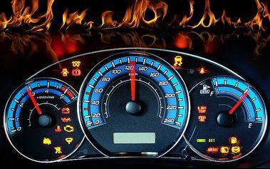 6 kol v Subaru Impreza WRX Sti na rally trati v Dlouhé Lhotě u Příbrami