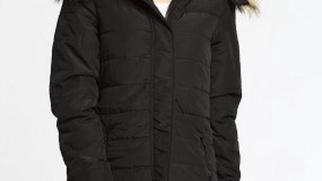 Zateplená dámská bunda s kapucí