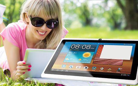 Multimediální 7palcový tablet s Android 4.1, obalem a vstupem 3G dongle