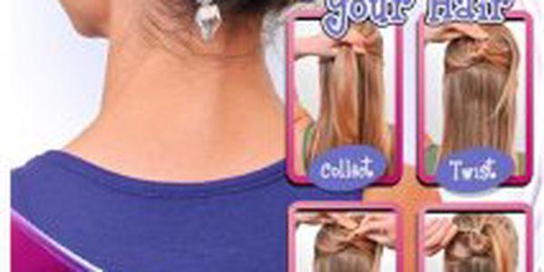 Stojíte každý den před zrcadlem a nevíte si rady s Vašimi vlasy? Zkuste Twist-n-Clip pouhých 99 Kč!