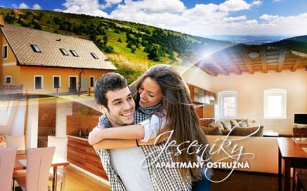 Dovolená v Jeseníkách za perfektní cenu! Ubytování v apartmánech Ostružná na 3 DNY pro 2 nebo 4 osoby!