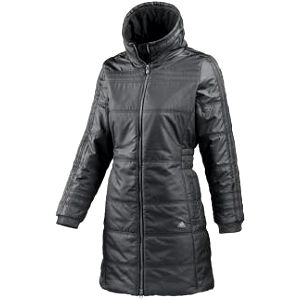 Dámský lifestylový kabát adidas JACKETS PADDED 3STRIPES COAT