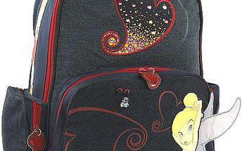 Kvalitní jednokomorový batoh Tinker Bell Easy