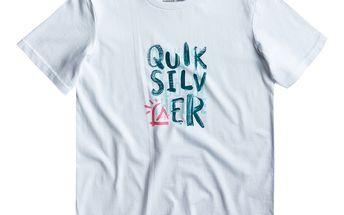 Sportovní triko Quiksilver SS Basic Tee Youth pro mladé rošťáky