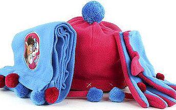 Originální dárková zimní sada s motivem myšky Diddliny a koníka Galupy