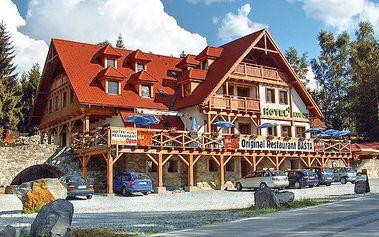 4denní lyžařský nebo jarní pobyt pro dva na břehu Lipna v hotelu Kupec***