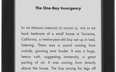 Čtečka elektronických knih Amazon Kindle 6 Touch, sponzorovaná