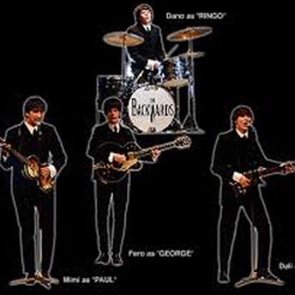 Vstupenka na hudebně - vizuální show revivalové kapely The Backwards - Beatles revival.