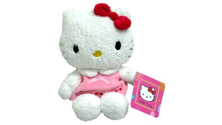Hello Kitty s tajnou schránkou v tělíčku 20cm
