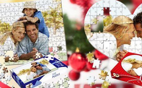 100 až 912 dílků puzzle s fotkou dle vašeho výběru