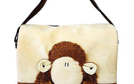 Taška přes rameno hnědá ovečka, Sheepworld