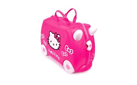 Kufřík a odrážedlo TRUNKI Hello Kitty